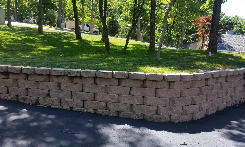 small retaining wall